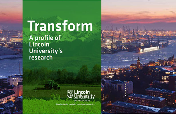 Lincoln University's Transform magazine